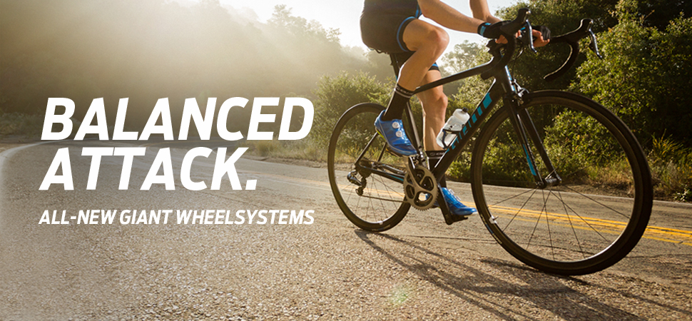BALANCED ATTACK. ALL-NEW GIANT WHEELSYSTEMS