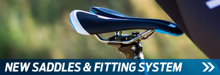NEW SADDLES & FITTING SYSTEM