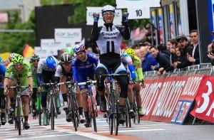 ジロ・デ・イタリアでステージ優勝したマルセル・キッテル