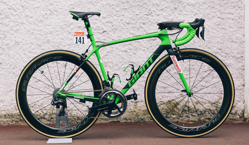 TDF Green TCR Advanced SL