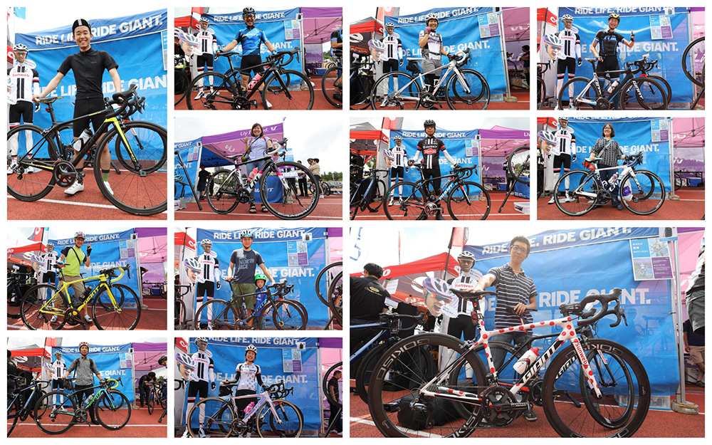 Fuji HC User Bike Photo Collage