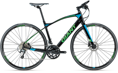 2017 giant bicycle bikes on road