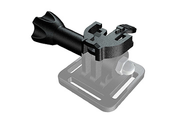 HEADLIGHT ADAPTER for GOPRO MOUNT