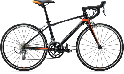 2018 giant bicycle bikes on road