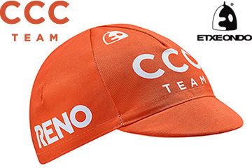 2019 CCC TEAM CYCLING CAP