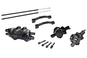 2019 CONDUCT BRAKE SET (Post mount with 140mm Rotor F&R)