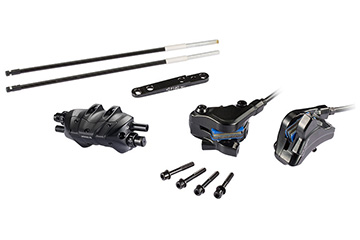 2019 CONDUCT BRAKE SET (Flat mount with 160mm Rotor F&R)